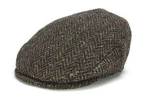 Mens and Ladies Donegal Tweed Mens and Ladies Vintage Flat Cap WBHH11D