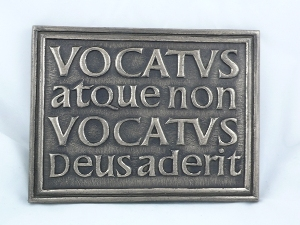 Vocatus Plaque Wall Hanging from Wild Goose Studio  WBWG115.2