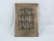 Cead Mile Failte Plaque Wall Hanging from Wild Goose Studio WBWG18.3