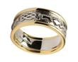 Ladies Claddagh Celtic Knot Wedding Band WBWED247