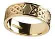 Ladies 14k Gold Lovers Knot Wedding Band WBWED294