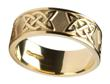 Men's 14k Gold Lovers Knot Wedding Band WBWED295